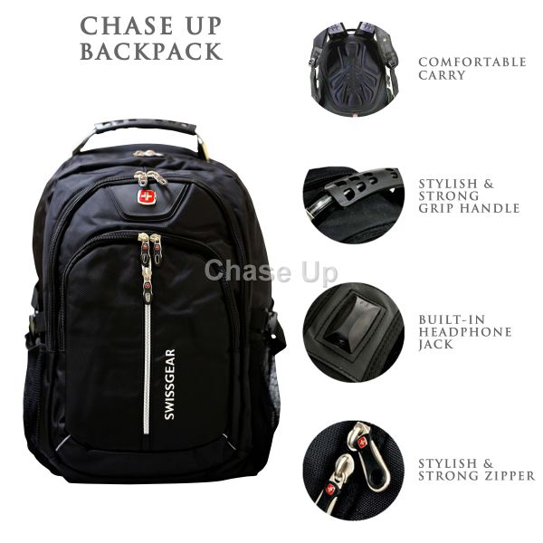 Gents Backpack 8615 TI-005 Imp (Black)